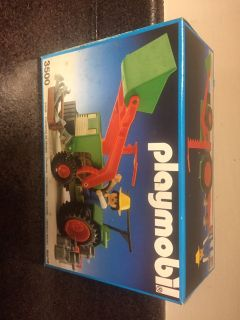 PLAYMOBIL 3500 TRACTOR 1986 GERMANY