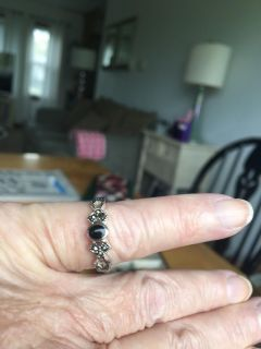Sterling Silver Marcasite Ring, Never Worn