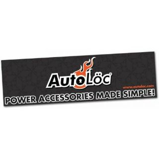 Buy 36 X 120 Autoloc Logo Color Banner wide 5 hotrod matchless cal customs wrecker motorcycle in Portland, Oregon, United States, for US $89.95
