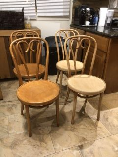 4 chairs (unfinished project)