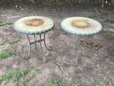 Free, outside tables