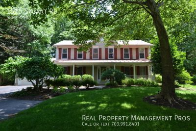 Beatifully Updated 5 Bedroom Colonial For Rent In Reston