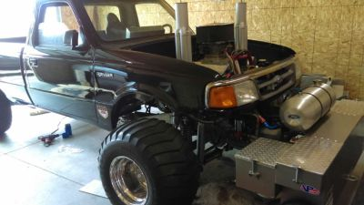 1997 ford ranger 4x4 puller truck