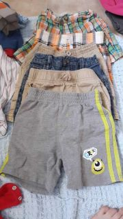 6 pairs of 18 month's shorts