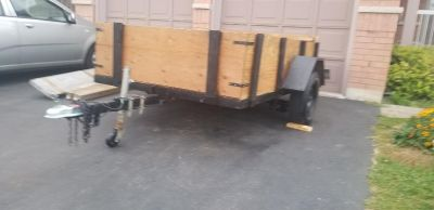5 1/2 8 solid utility trailer