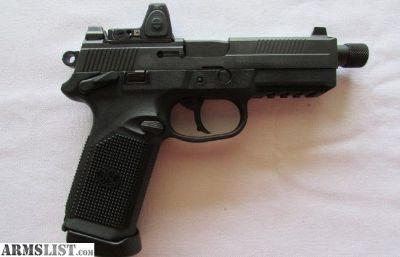 For Sale: FNX-45 Tactical Black Trijicon