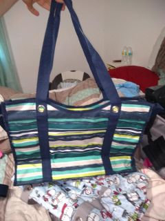 Thirty-one zip up tote
