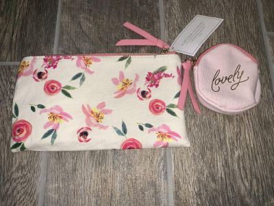 2 Makeup Bags NEW with tags