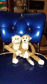 Cute little monkey dolls, with Velcro hands. Asking $3.00