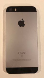 Used iPhone 5SE w/ Gray Mophie Charging Battery Case