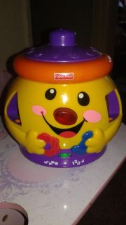 Fisher price shape and counting cookie jar