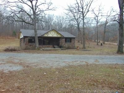 3 Bed 2 Bath Foreclosure Property in Locust Grove, OK 74352 - S 4414