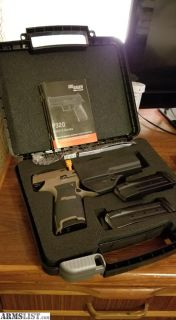 For Sale/Trade: Sig Sauer P320c 9mm
