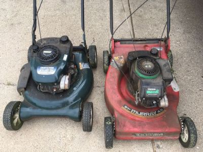 Craftsman and Murray mowers