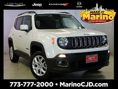 2017 Jeep Renegade latitude (white)