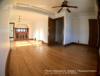Incredible 2bd Upper Unit in West Milwaukee