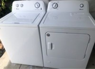 Amana washer and gas dryer