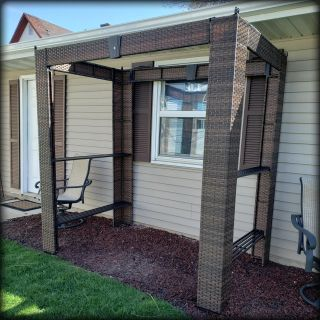 Small Space or Grilling Pergola/Gazebo - Brand New/Just Assembled!