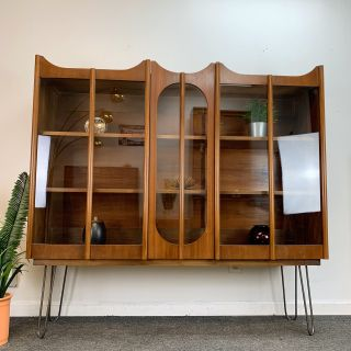 Mid Century Modern Display Cabinet ( Delivered )