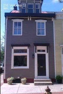 Delightful 3 Bed 1 Bath End-Of-Row Home On Picturesque Verbeke Street