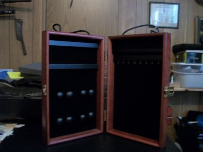 Solid wood jewelry cases