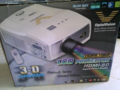 1080p LCD Projector