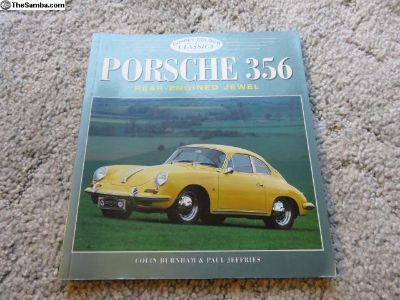 Porsche 356 - rear engined jewel book