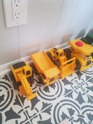 Set of 4 Construction vehicles