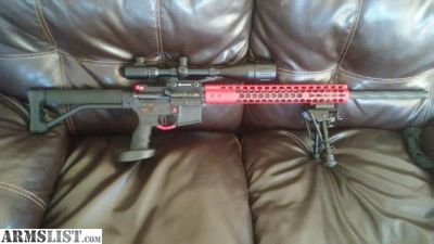 For Sale: Custom Spikes Tactical AR-15 with Leupold scope