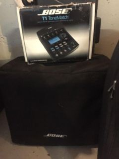 Bose L-1 Tower with subwoofer and T-1 mixer