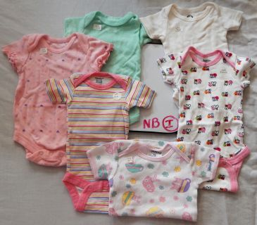 Onesies .75 each or $3 for all 6