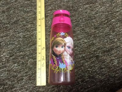 Disney Frozen Anna and Elsa water bottle, scroll right for more photos, in GUC $2.00