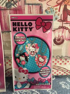 Unopened Hello Kitty Necklace