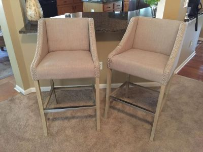 Upholstered bar chairs