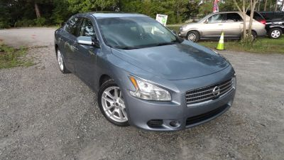 2010 Nissan Maxima 3.5 SV (Blue,Light)