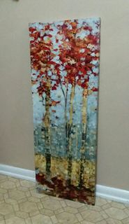 POTTERY BARN/CANVAS/WALL DECOR.......EXCELLENT CONDITION