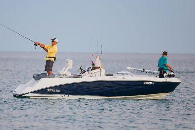 2018 Yamaha 210 FSH Deluxe Jet Boats Hampton Bays, NY