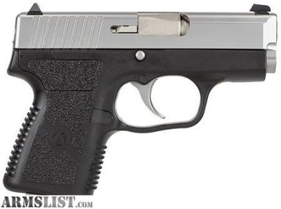 "For Sale: Kahr Arms PM9093 PM9 DAO 9mm 3"" 6+1/7+1 Black Poly Grip/Stainless CA Comp."