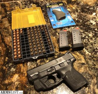 For Sale/Trade: M&P Shield 45 w/Lasermax and ammo