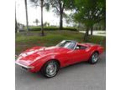 1968 Chevrolet Corvette Stingray Convertible 427 Big Block V8