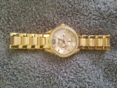 Ladies Fossil Watch rose gold