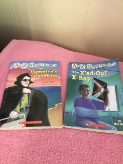 A TO Z MYSTERY BOOKS