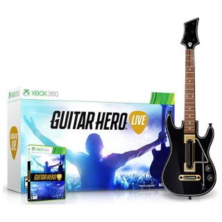 Guitar Hero Wireless system with Extra Guitar included for XBOX 360