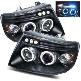 03-06 ford expedition black headlights