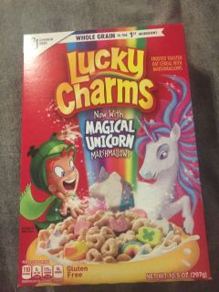 General Mills lucky charms with magical unicorn marshmallows - 10.5 oz