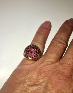 Ruby Ring 14kt Gold