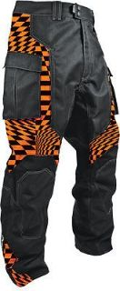 Find HMK Orange Checker Throttle Pant - HM7PTHROC2X ( Mens Size 2XL ) XX-Large motorcycle in Loudon, Tennessee, United States, for US $188.94
