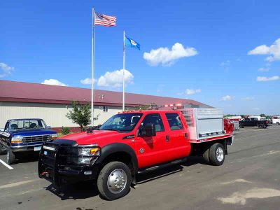 2016 Ford F-550 Super Duty 4x4 Fire Truck