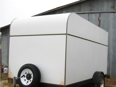 2002 Aztec 6 x 12 Enclosed Cargo Trailer