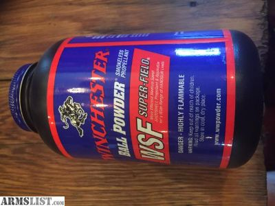 For Sale: Winchester WSF Powder